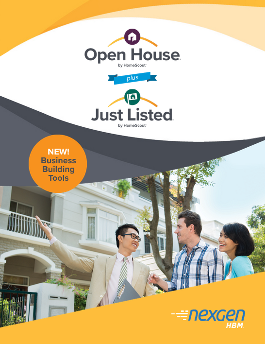 Open House and Just Listed™ Flyer