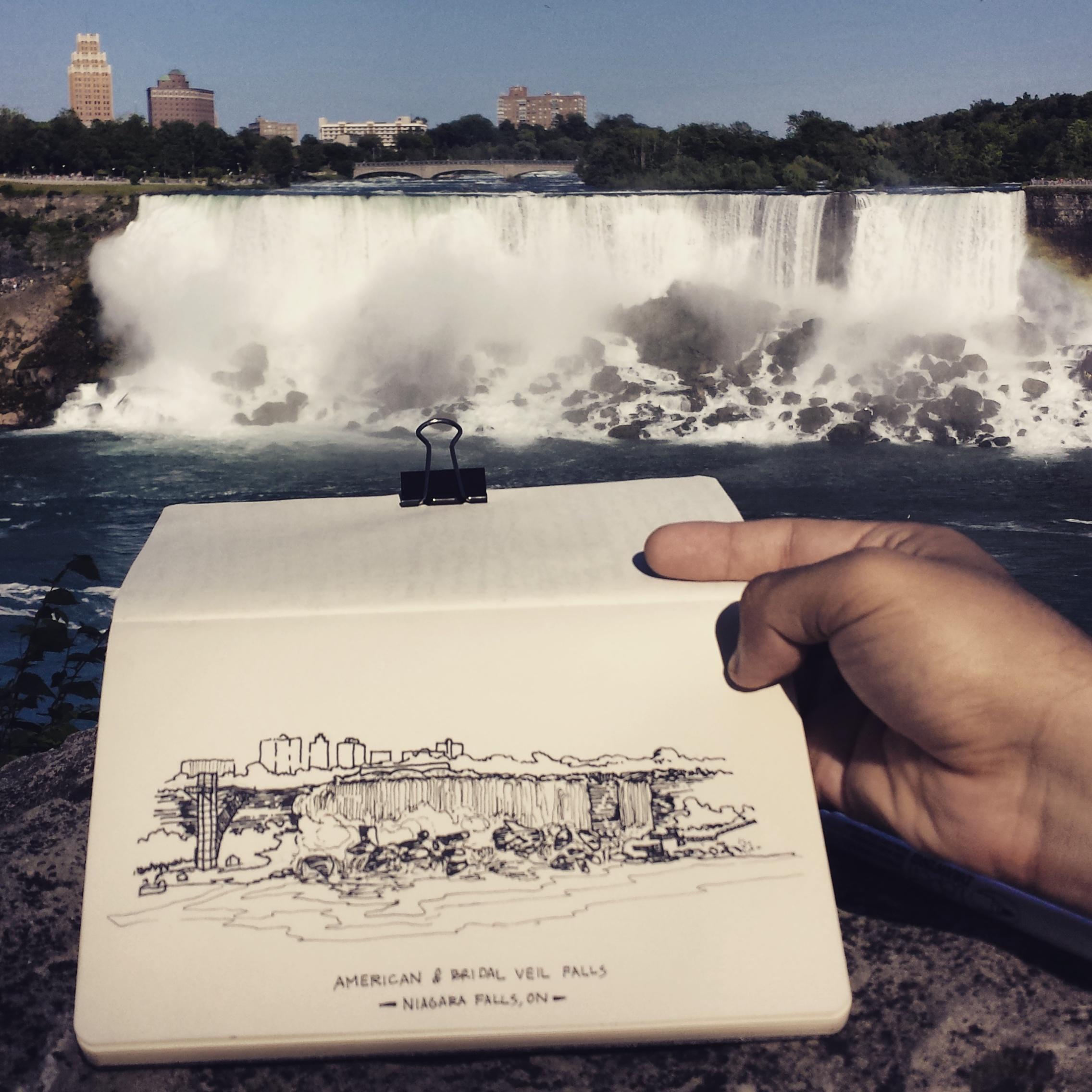Niagara Falls from Ontario