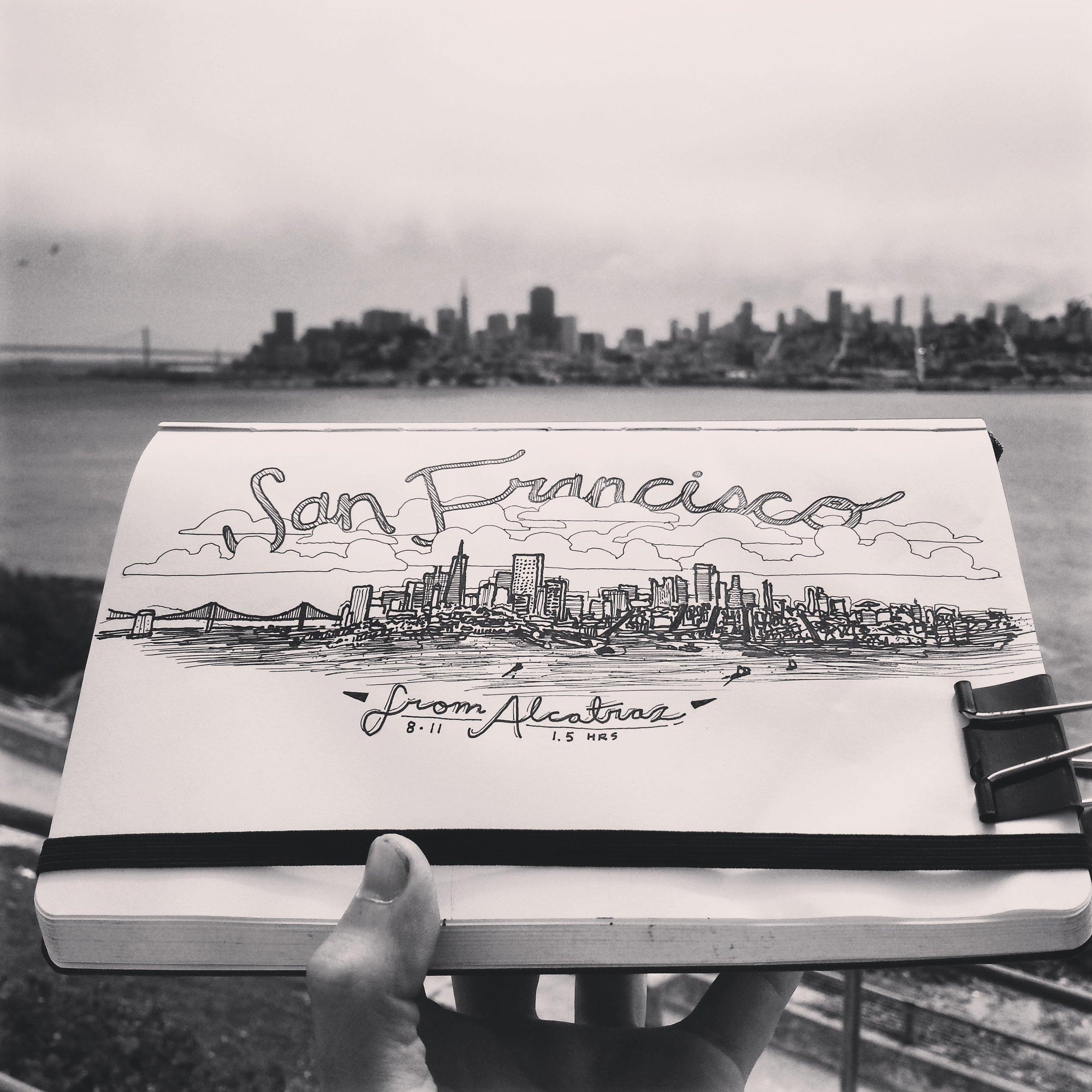 San Francisco, CA from Alcatraz
