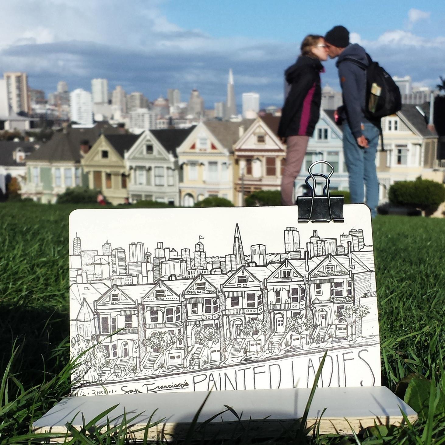 Painted Ladies, San Francisco CA