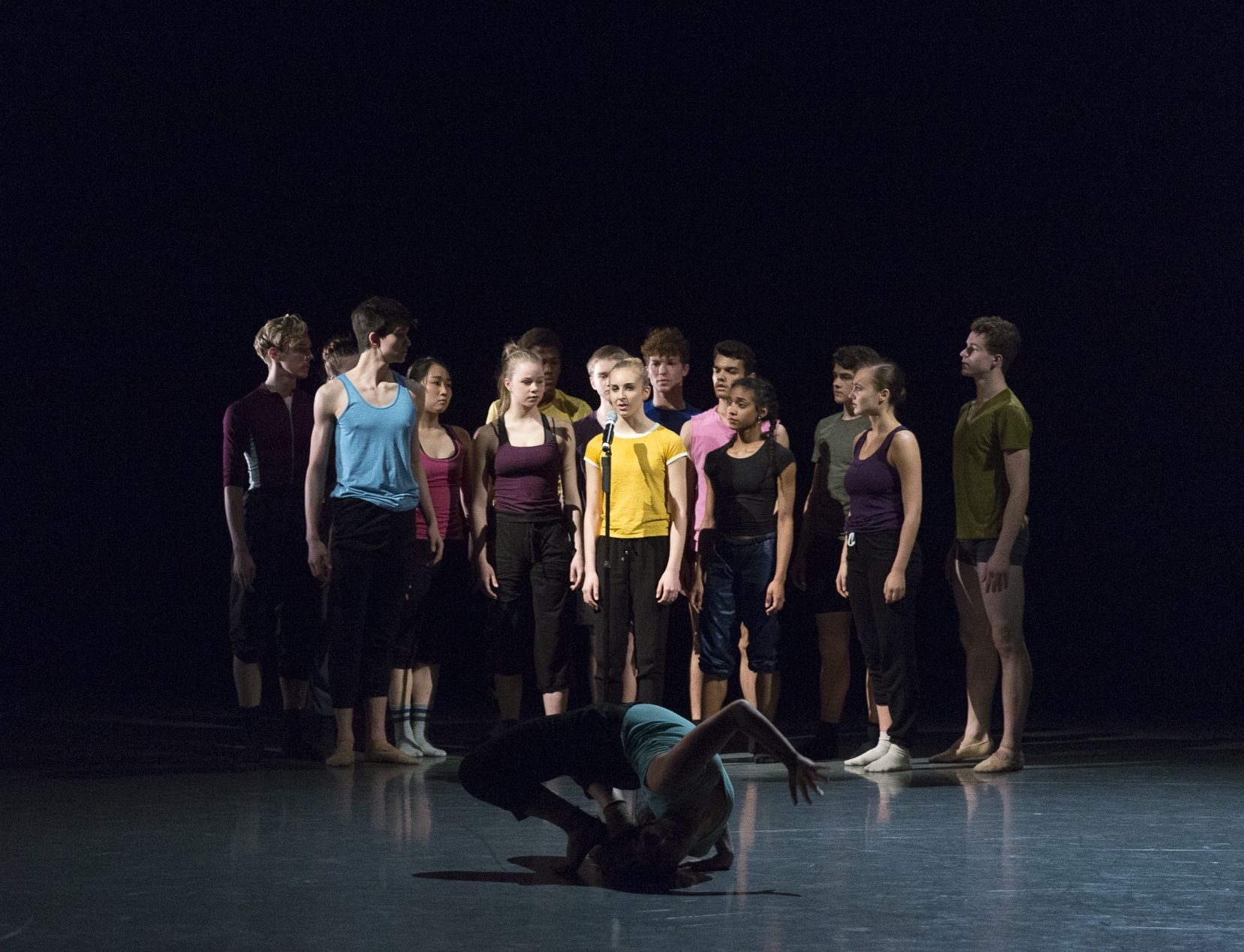 I Wonder -   AI17 - Canada's National Ballet School. Photo by  Aleksandar Antonijevic .
