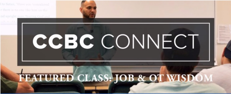 "Want to know a bit more about what I do in the classroom? The  Calvary Chapel Bible College  was kind enough to feature my ""Job and Wisdom Literature"" class on their blog this week. Check it out here:"