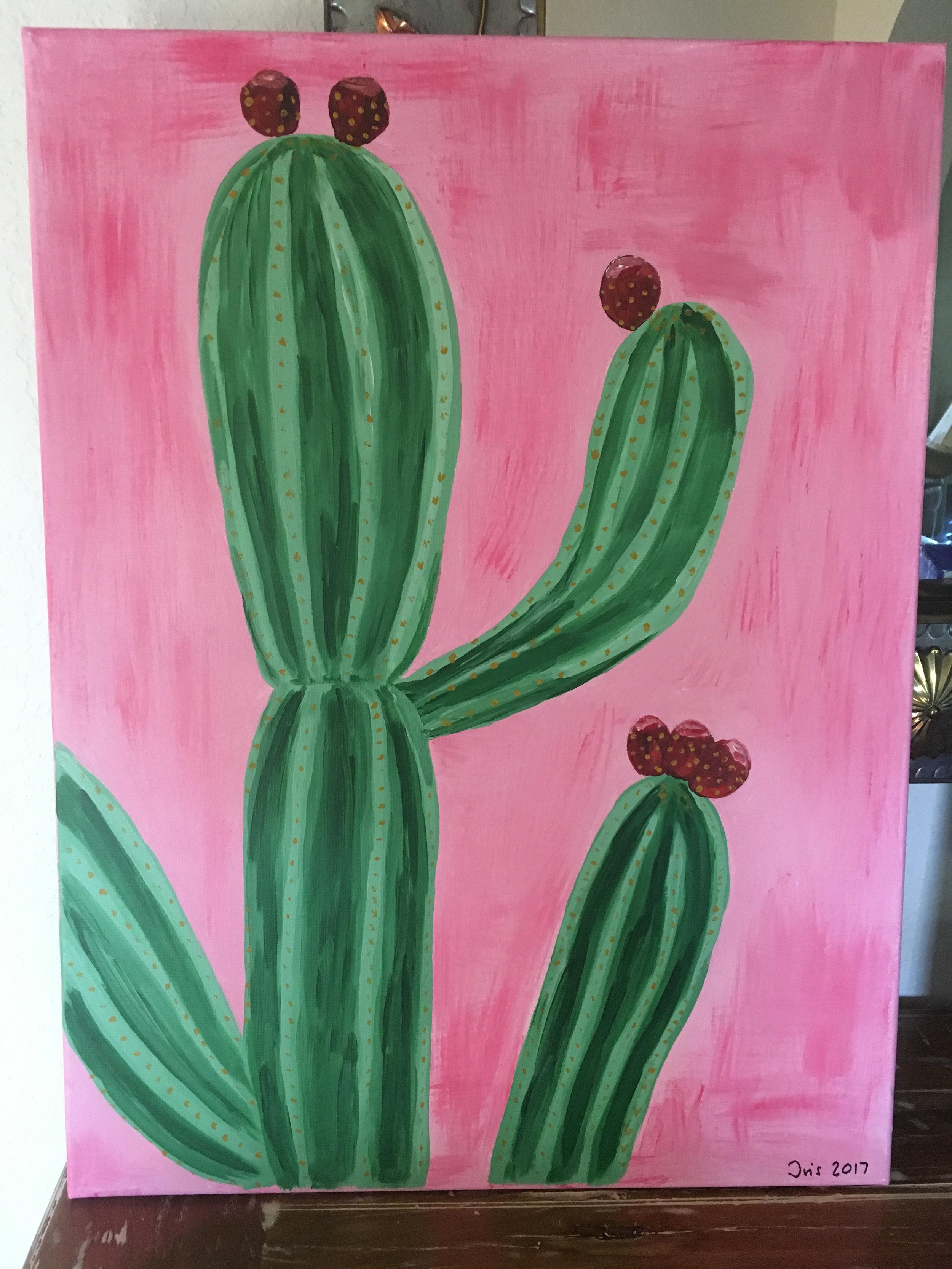 Iris' cactus masterpiece