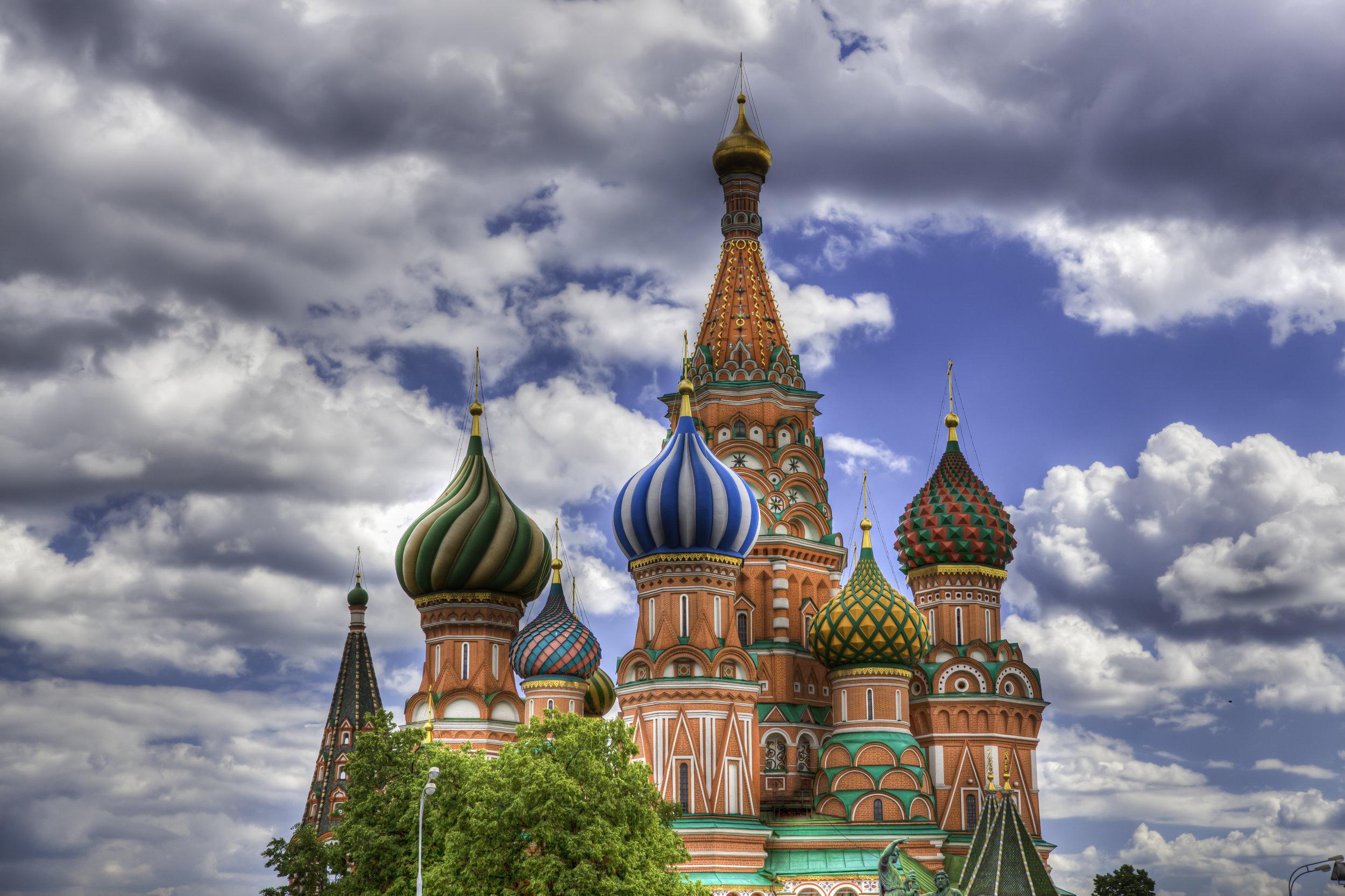 St. Basil's Cathedral – Photo by  Valerii Tkachenko via Wikimedia Commons