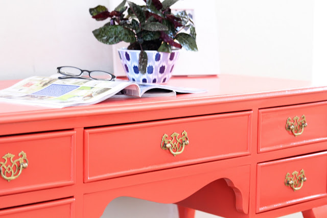 It's a gorgeous color for painting furniture. Image via  Craftionary .