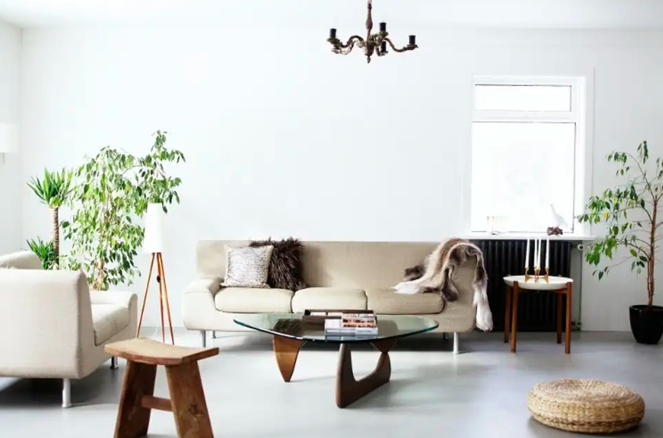 While the space above is beautiful, the bare walls make it look unfinished. Image via  Apartment Therapy .