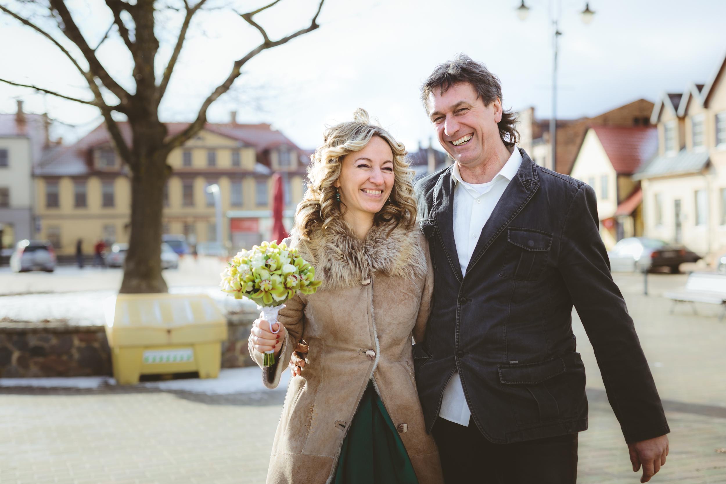 LATVIAN - GERMAN WEDDING. -