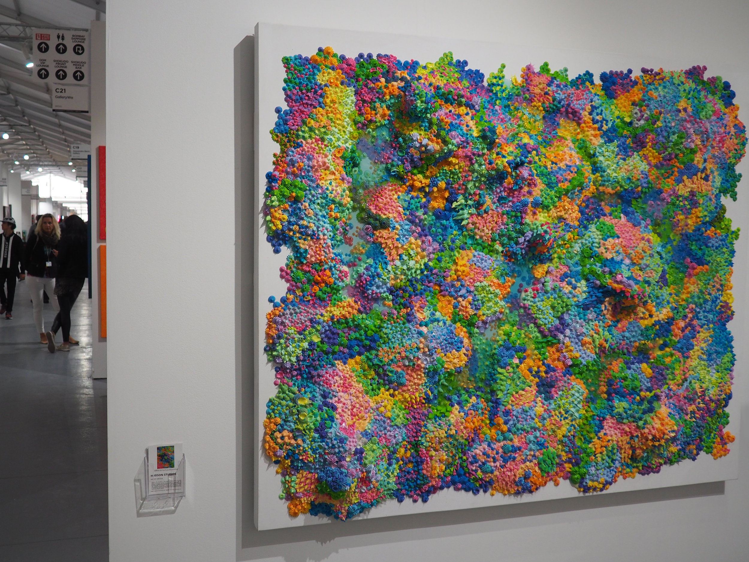 Candyland in SCOPE Miami Beach