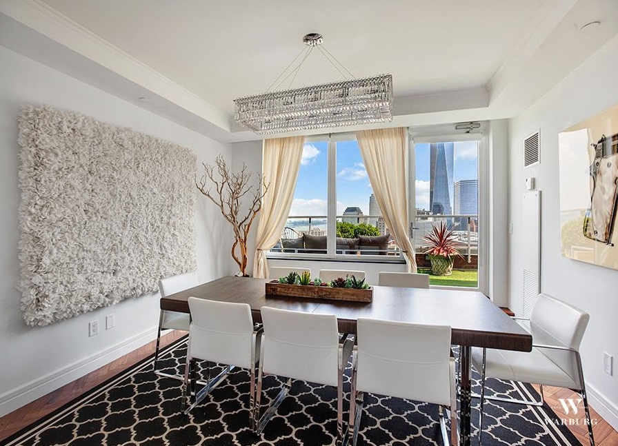 White Bouquet in Private Residence NYC