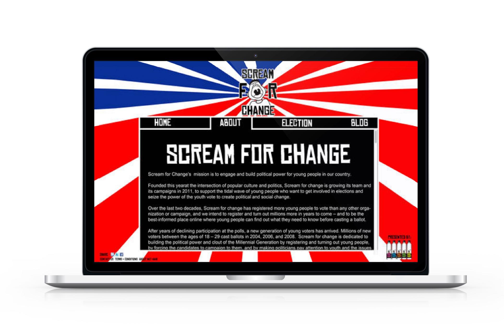 Seasonal Campaign Website Design