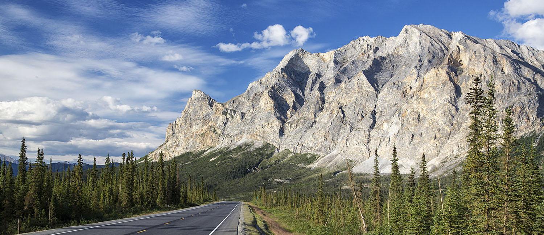 The Dalton Highway in Alaska