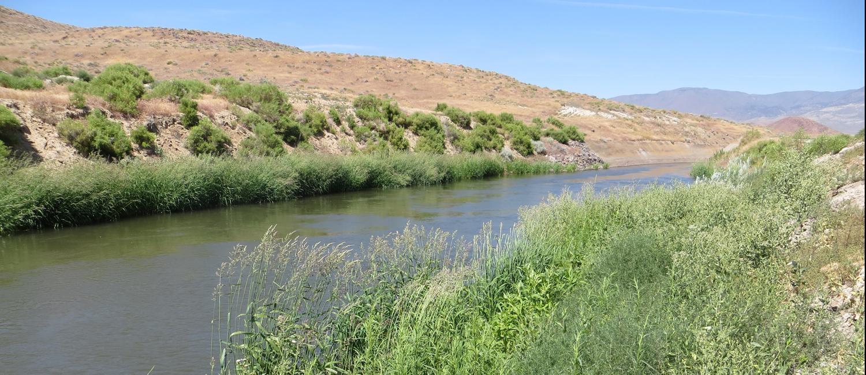 Truckee Canal near Reno, NV