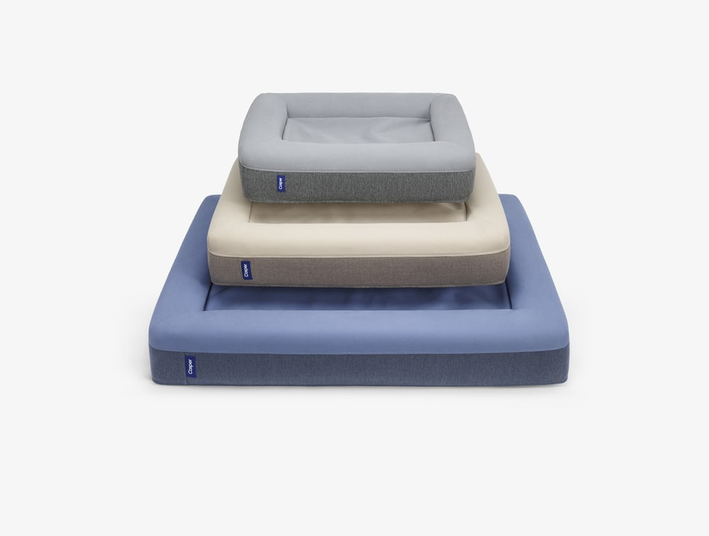 Comes in gray, blue and sand; $125-$225