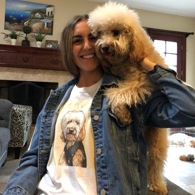 Obsessed much?! Bring some PUP culture into your life with @popyourpup ! Link in bio about how to get one of these pawsome shirts of YOUR dog!