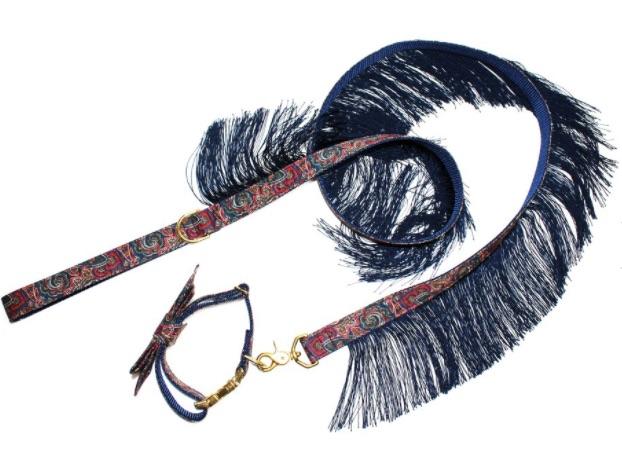 $69 Hendrix Fringe Leash  &  $25 Hendrix Classic Bow Tie
