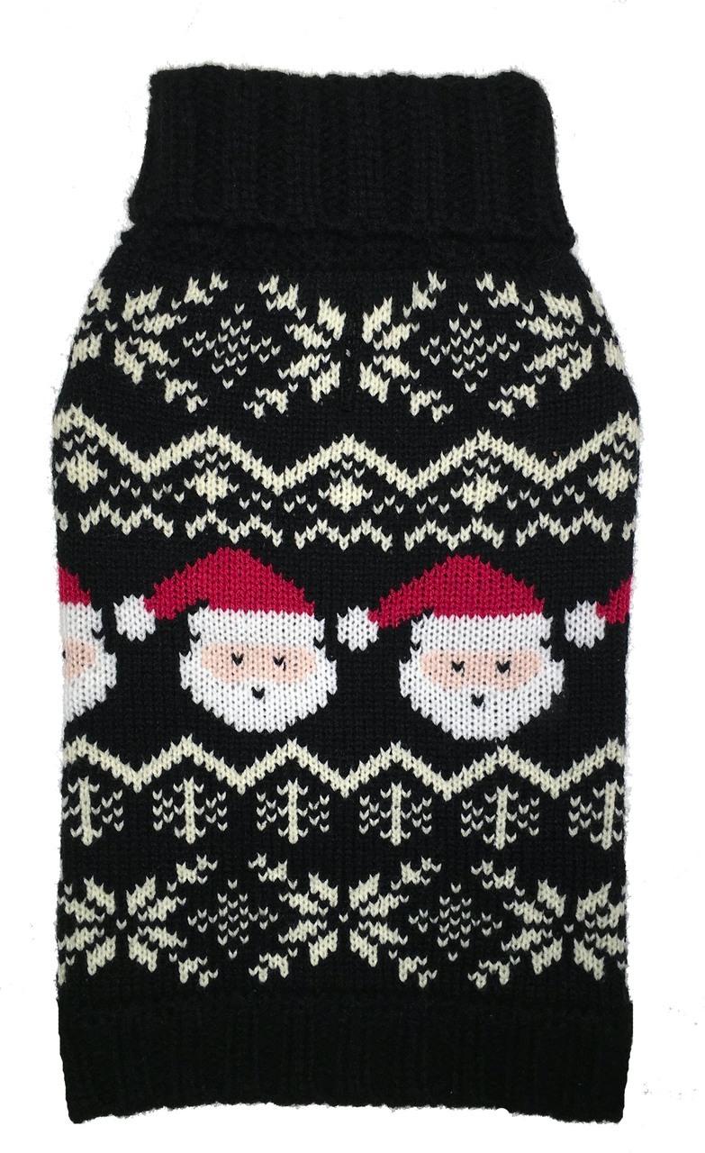 Fab Dog  Santa Fairisle Sweater $30