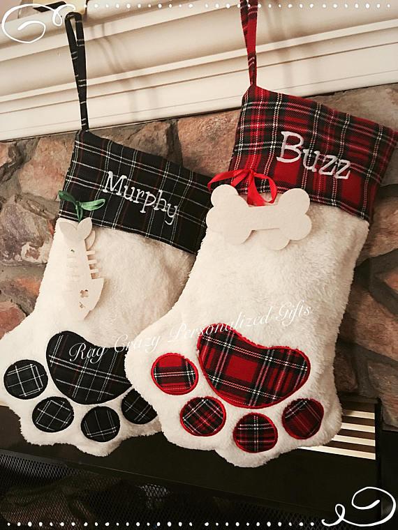 RagCrazy  Monogramed Stockings $17.95