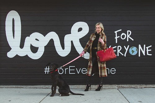 """""""Adopt, and if you can't adopt, then foster. And if you can't foster, then volunteer. If you can't volunteer then donate, and if you can't donate, then advocate.""""-Christine of @rescueinstyle is truly inspiring. Click the link in our bio to learn more about her!"""