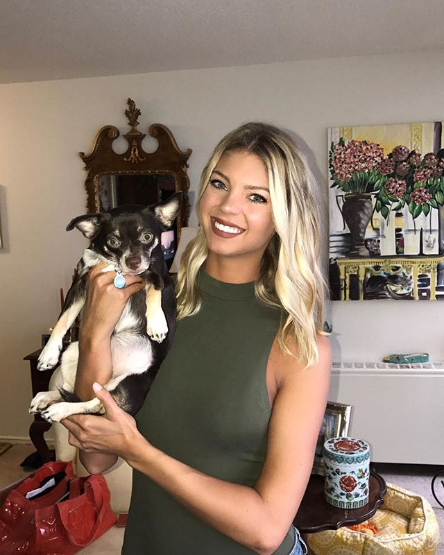 """""""I lover her more than I can even express. I saved her, but she also saved me.""""-Peyton. Click the link in our bio to read about Peyton & Coral's beautiful journey, a Vanderpump Dog's success story!"""