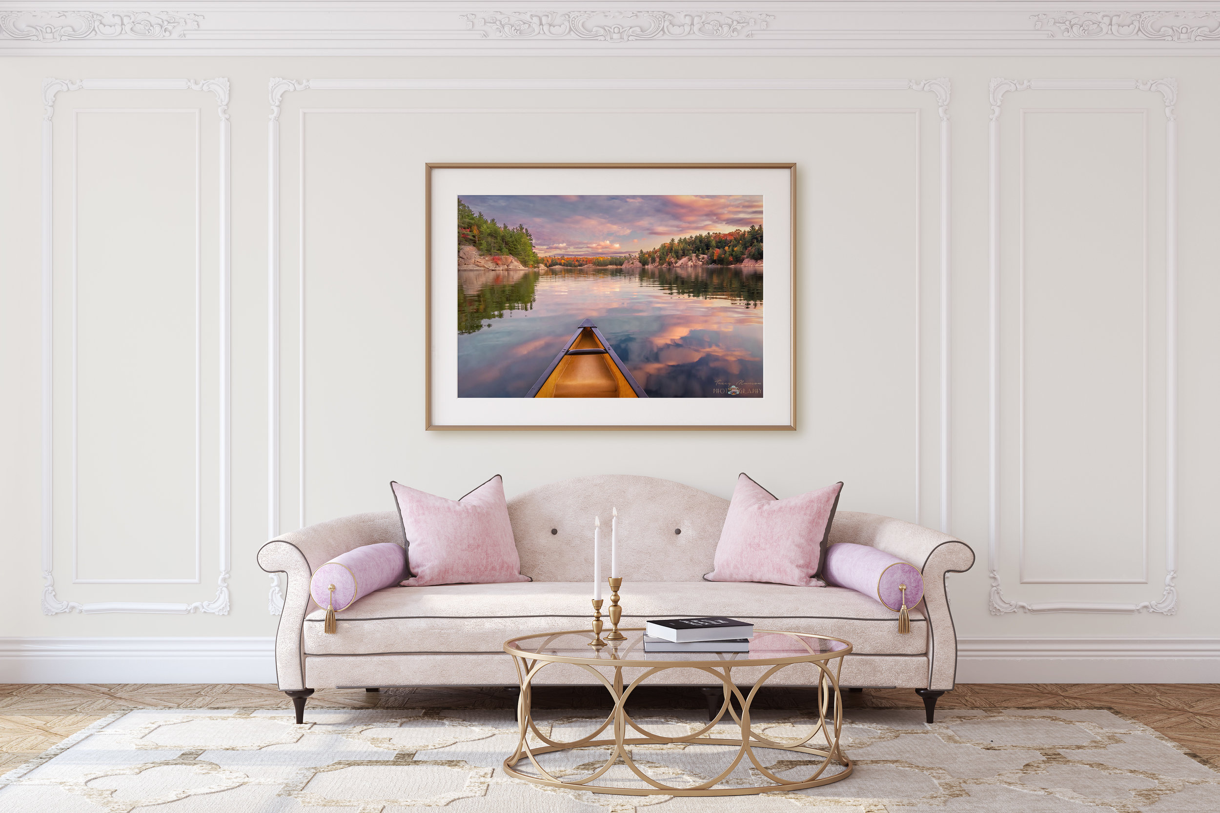 Buy Sunset Paddle Print
