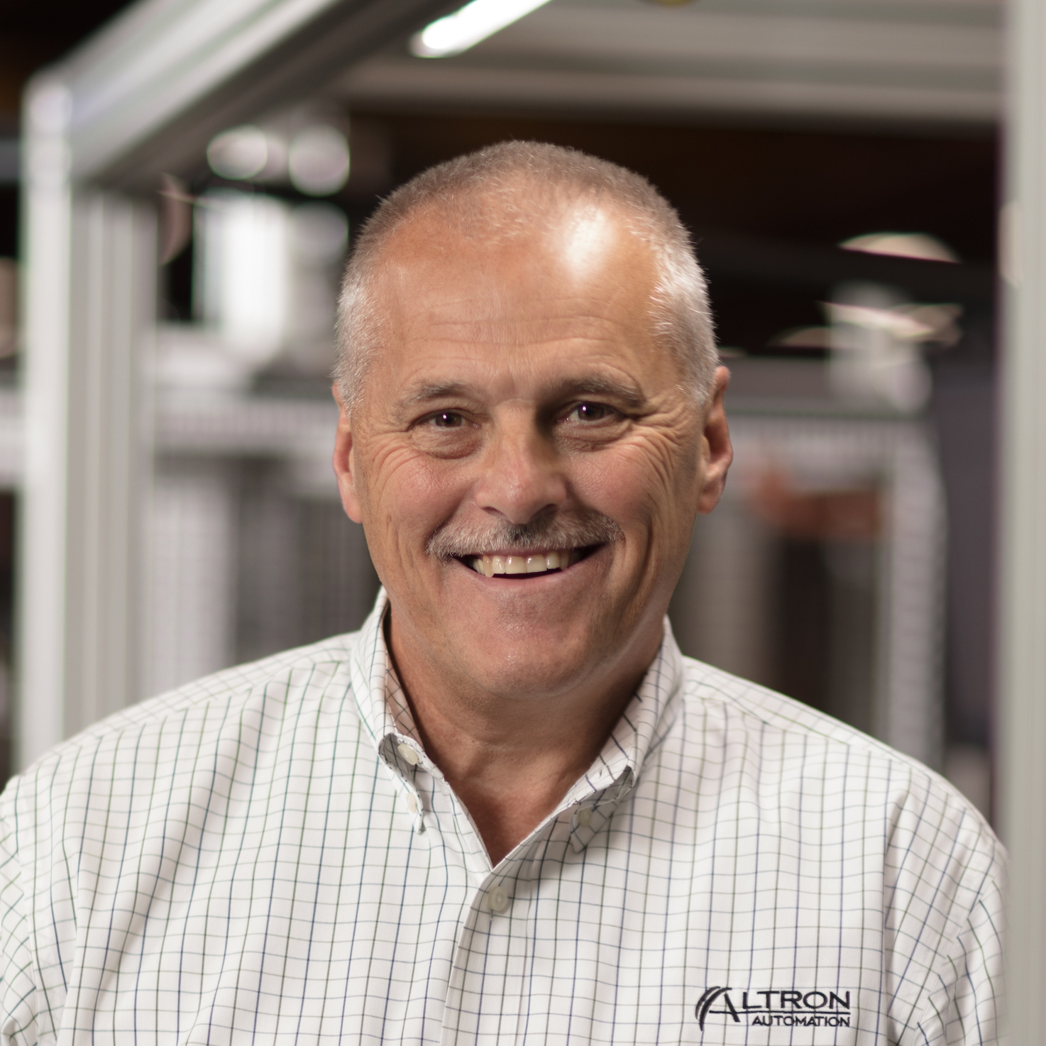 Ron McNees - President   As one of the founders of Altron Automation and someone who has been in the design and build industry for 35 years, Ron is passionate about this business. He is committed to continuous improvement as an employer of choice and as a supplier to our customers. Ron's dedication can be attributed to his desire to meet future challenges with creative and practical solutions for years to come.