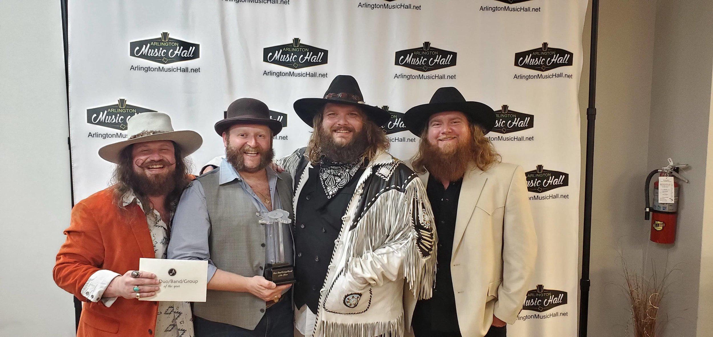 Copper Chief at the Texas Regional Radio Music Awards - Arlington, TX
