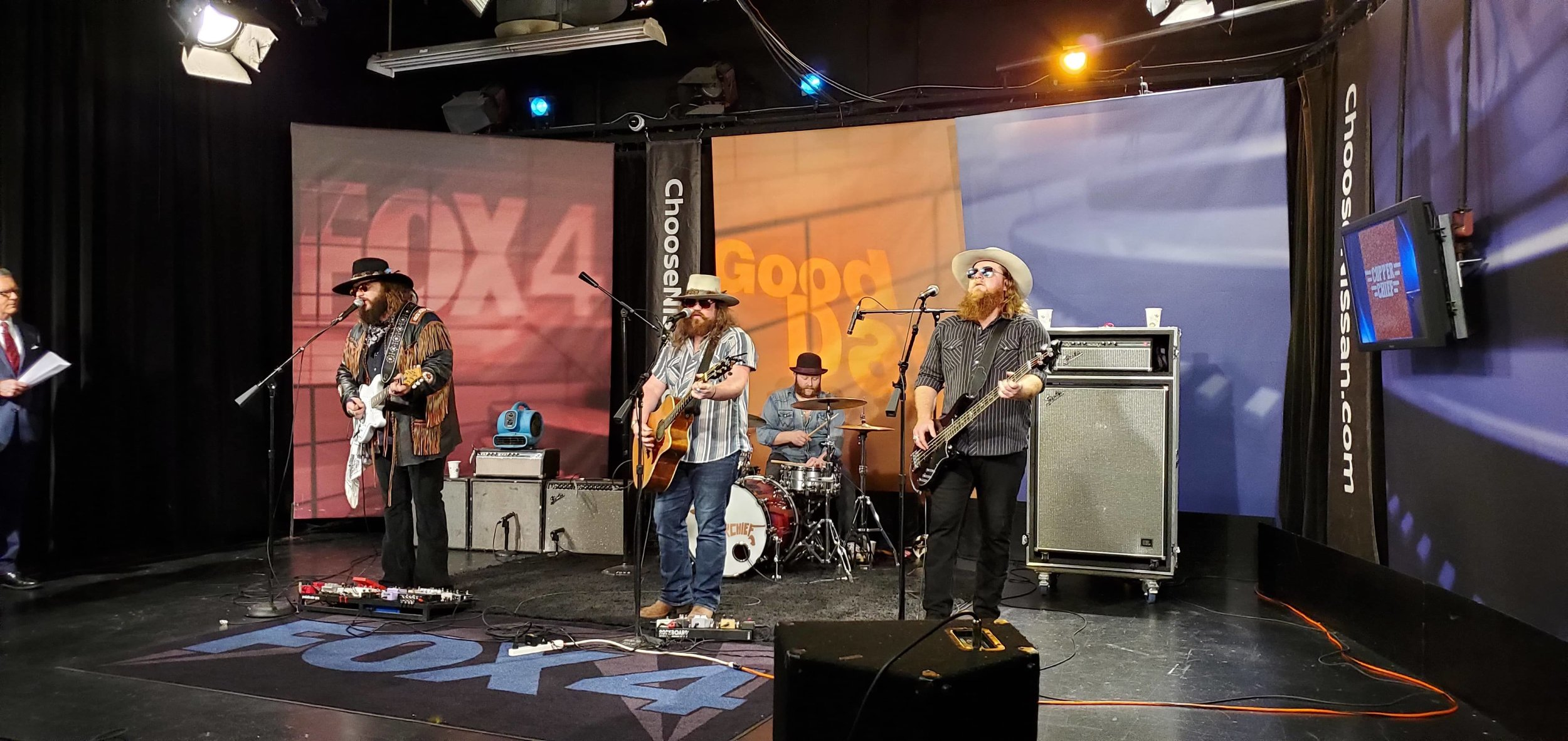 Copper Chief on Fox 4 Good Day KDFW - Dallas, TX