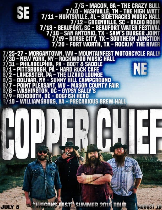 """WAGONS EAST"" SUMMER TOUR 2019"