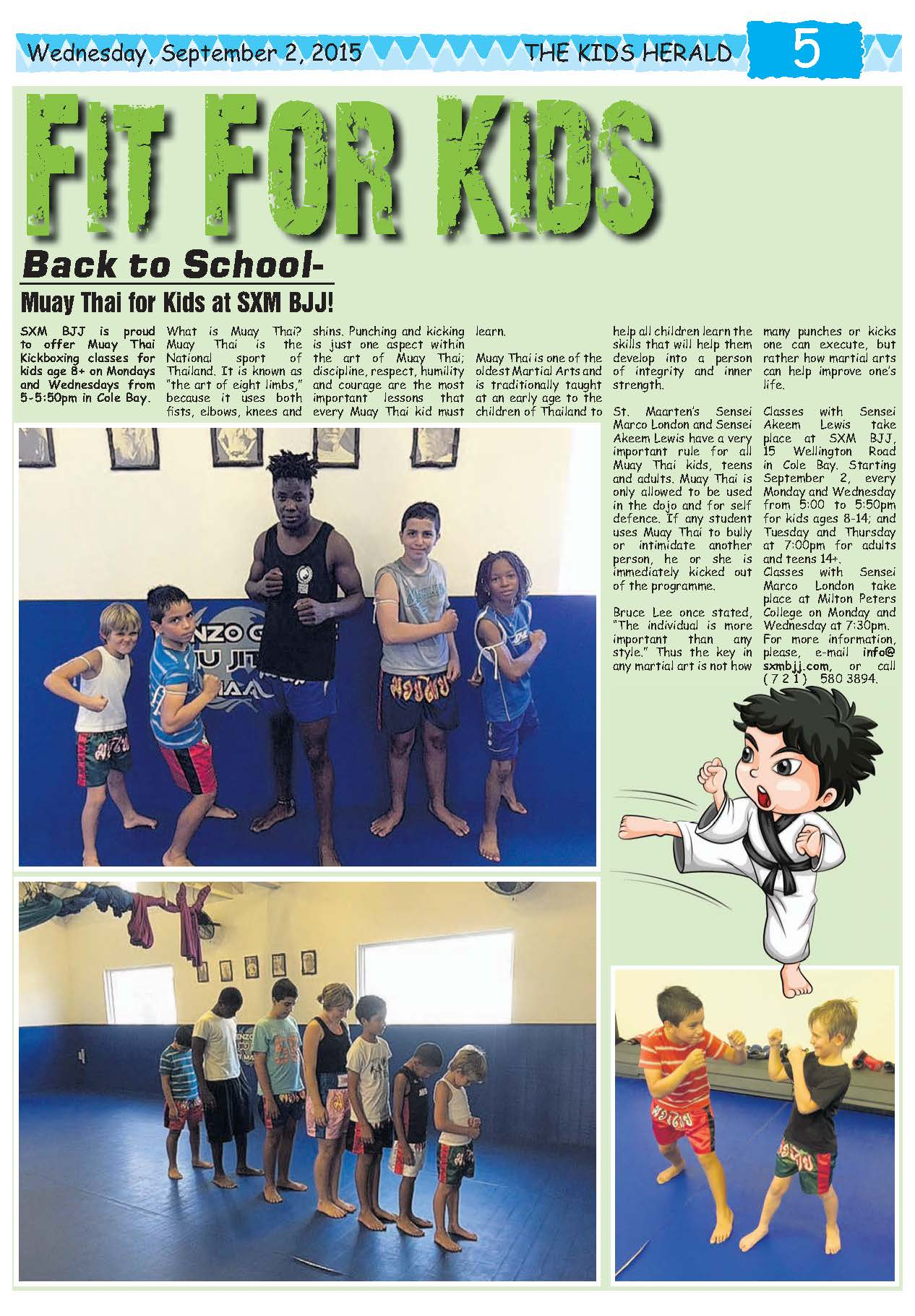 Press Muay Thai Kids Herald Sep 2 2015.jpg