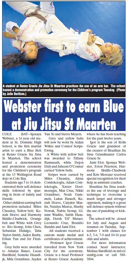 Press June 2015 Graduation Webster Blue belt.jpg