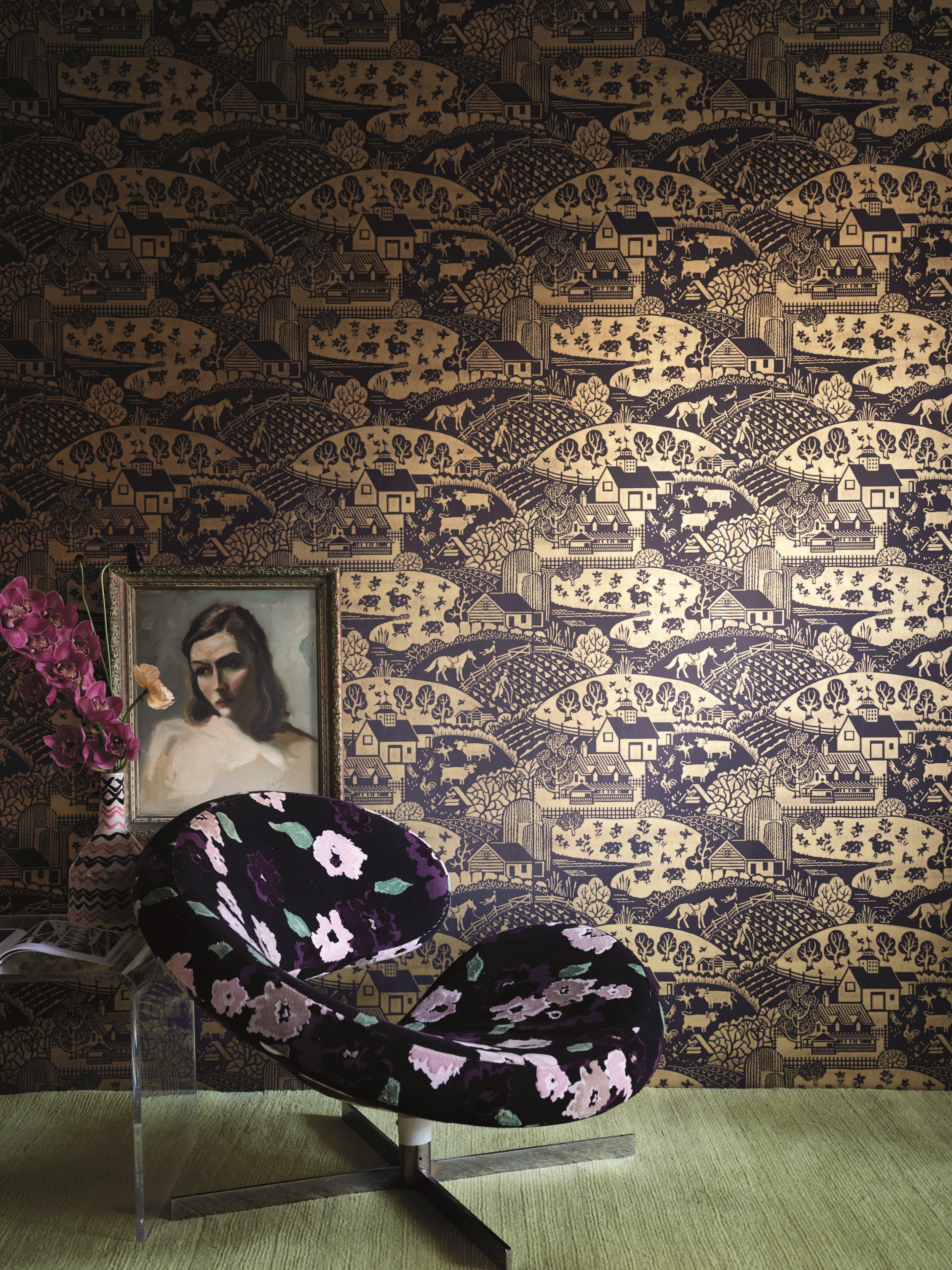 Wallpaper Shown : Gable 5409