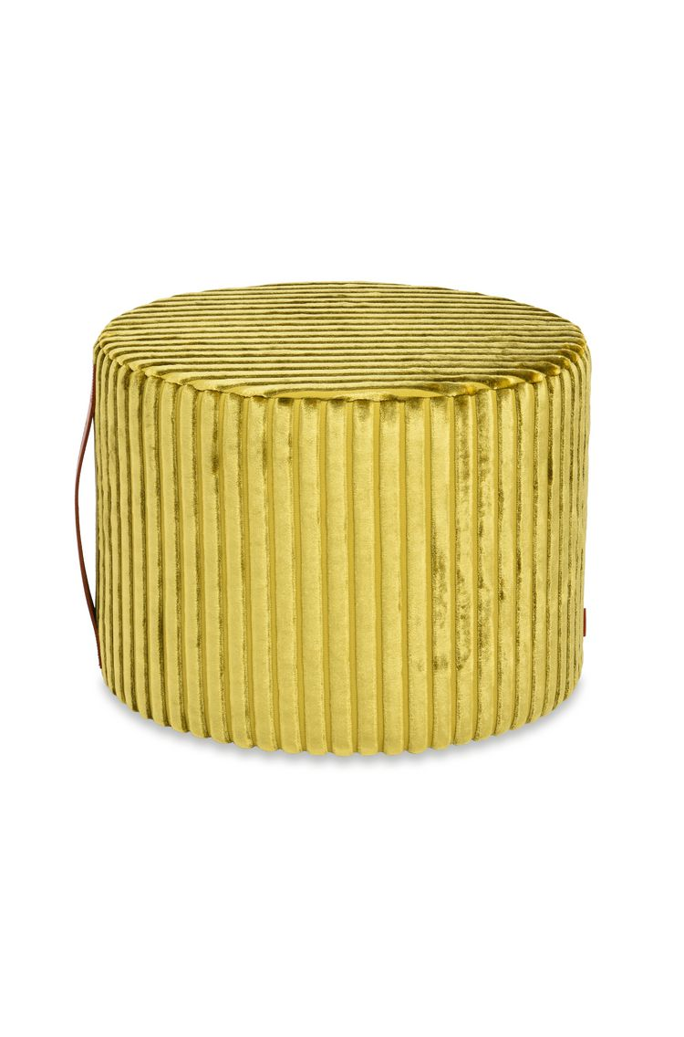 COOMBA CYLINDER POUF  16 x 12 in $ 580   Order Now
