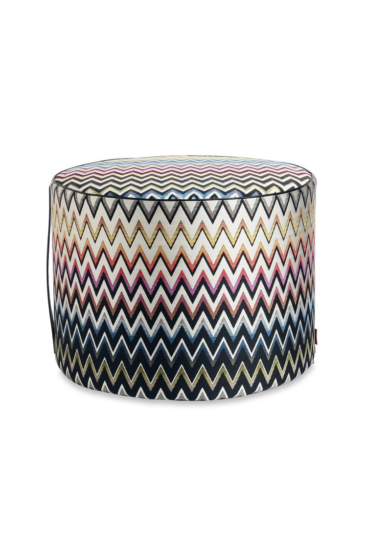 VERNAL CYLINDER POUF  16 x 12 in $ 711  Order Now