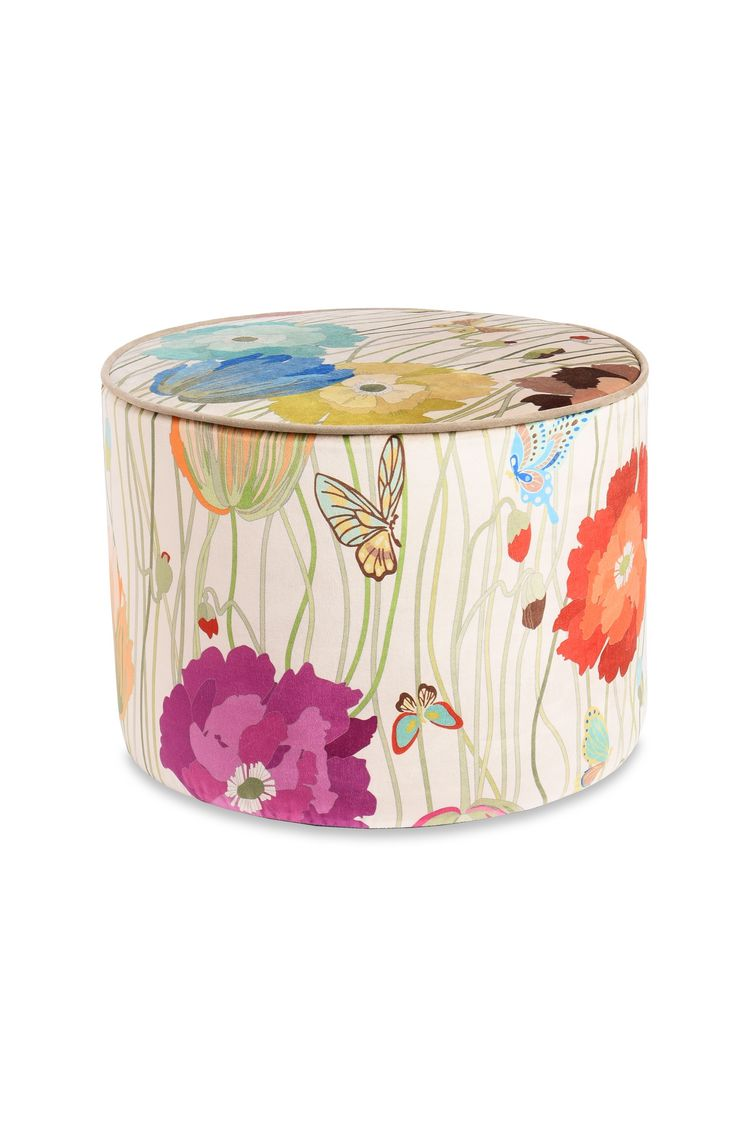 VANCOUVER CYLINDER POUF  16 x 12 in $ 732  Order Now
