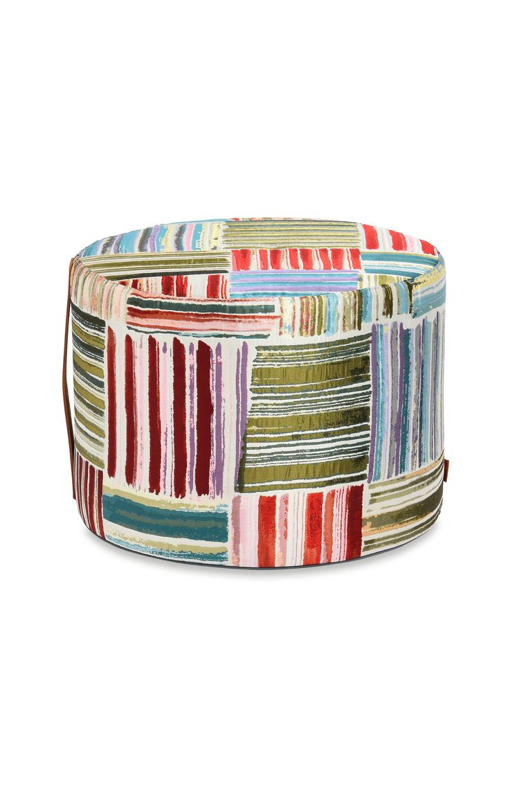 PALENQUE CYLINDER POUF  16 X 12 in $ 801  Order Now
