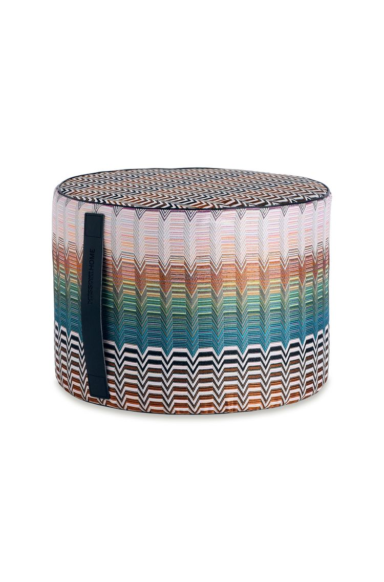 SANTAFE' PW CYLINDER POUF  16 X 12 in $ 796  Order Now