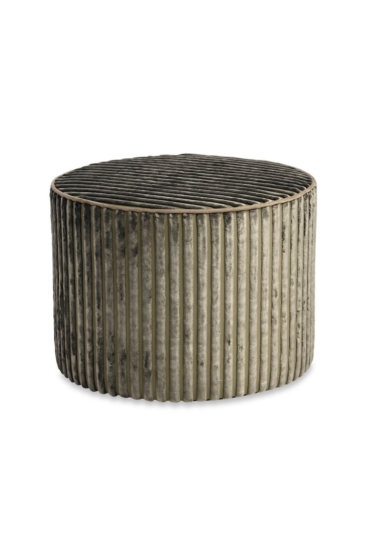 RABAT CYLINDER POUF  16 X 12 in $ 607  Order Now