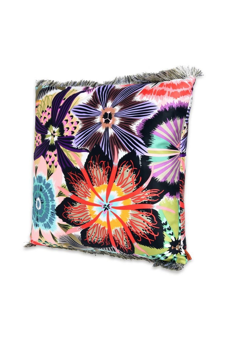 PASSIFLORA CUSHION  16 X 16 in $ 296   Order Now