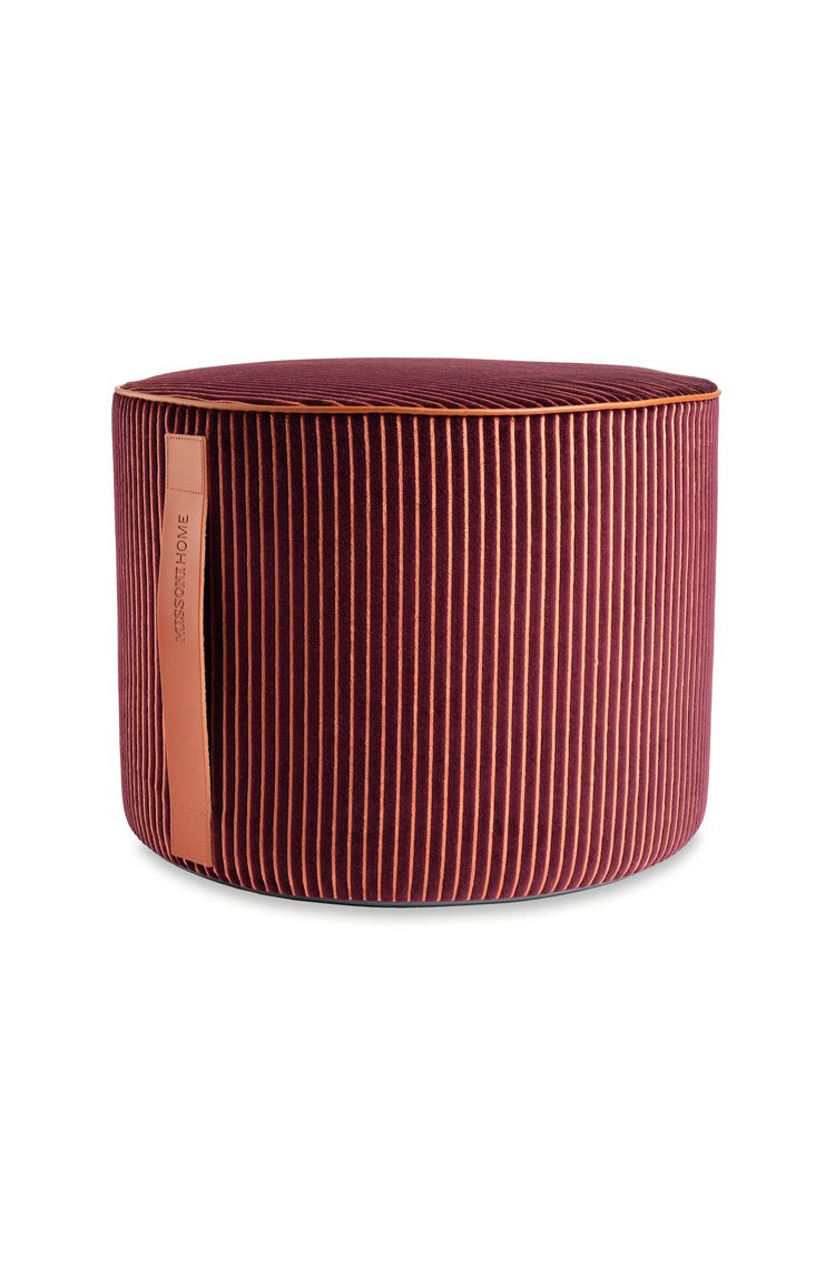 RAFAH CYLINDER POUF  16 X 12 in $ 633  Order Now