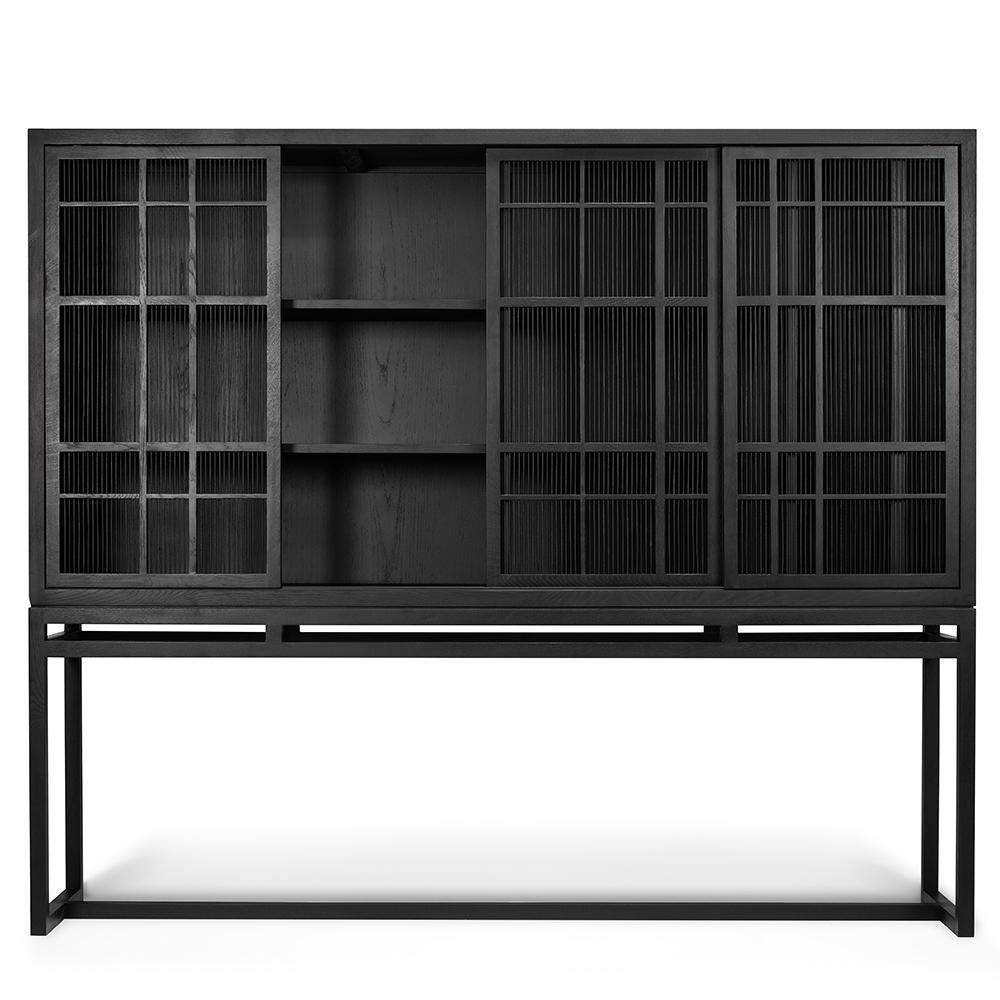 TGA-012346-Oak-Burung-cupboard-high-4-doors-bamboo-spikes-201x45x172_o.jpg