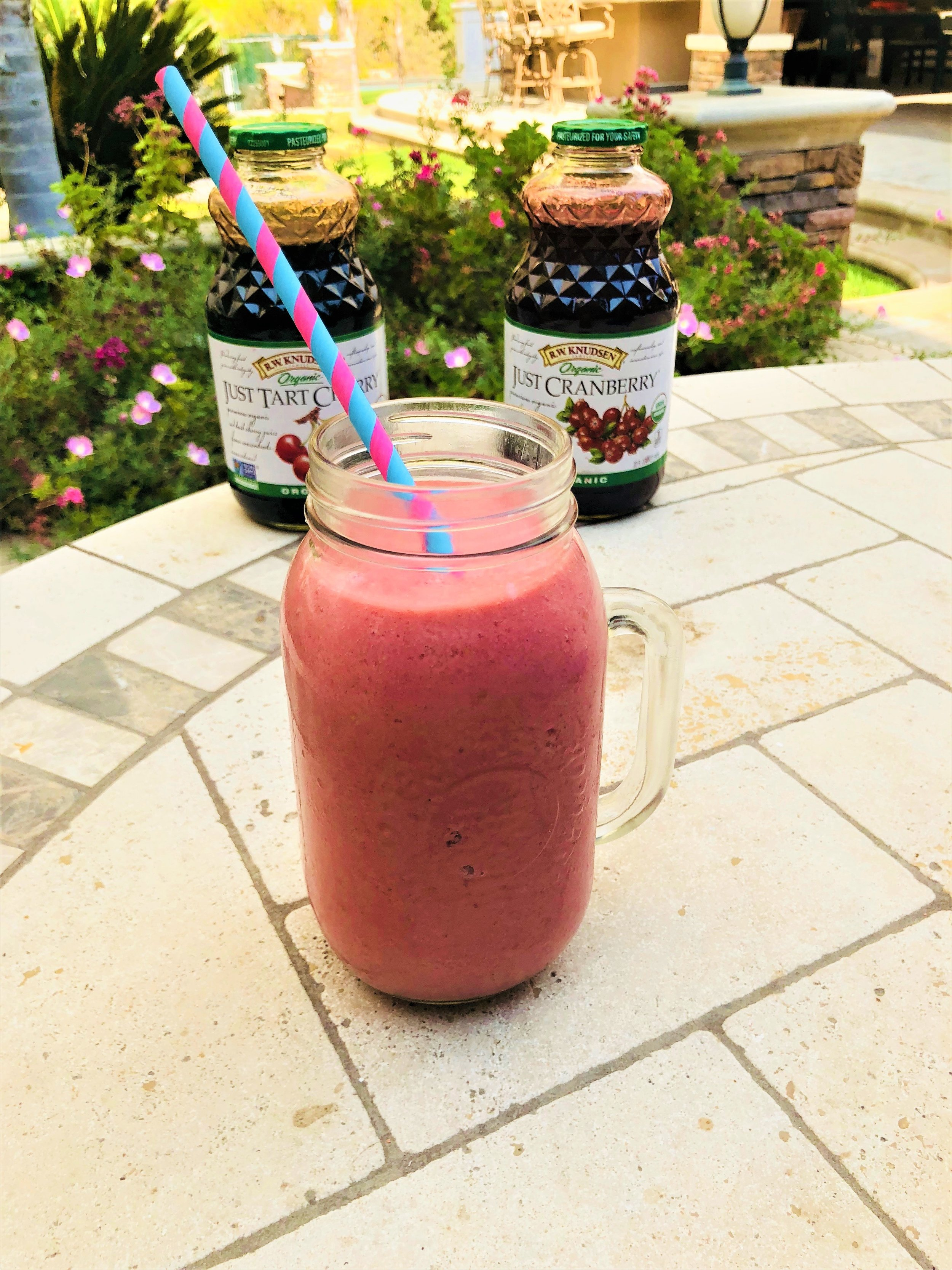 Vegan Cherry Berry Coconut Smoothie Recipe