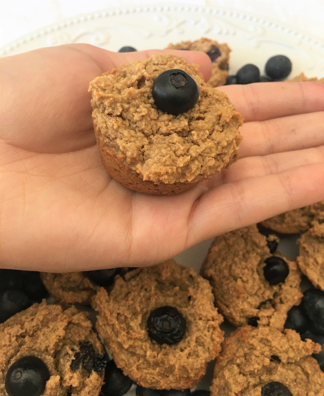 Best Vegan Gluten Free Blueberry Muffins! Healthy Recipe YogaKy
