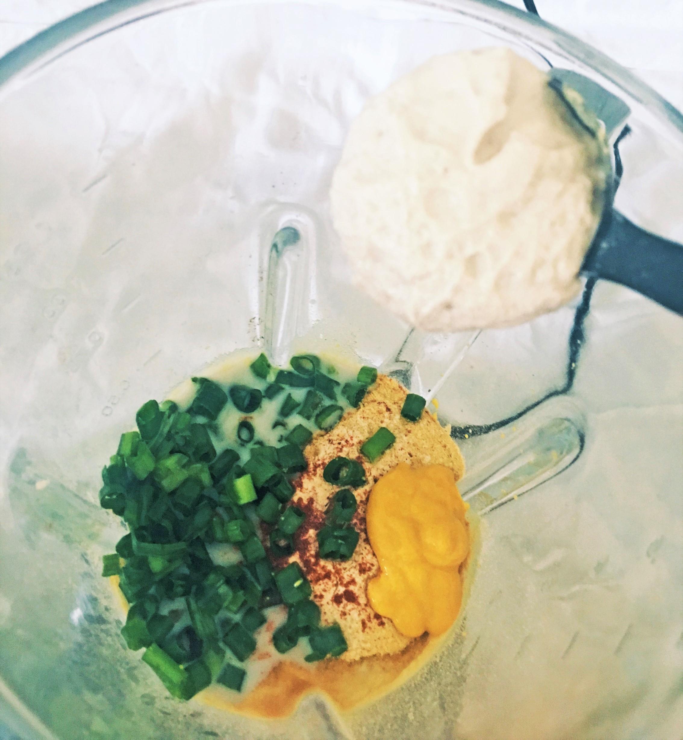 Vegan Cauliflower Mac and Cheese Yoga_ky
