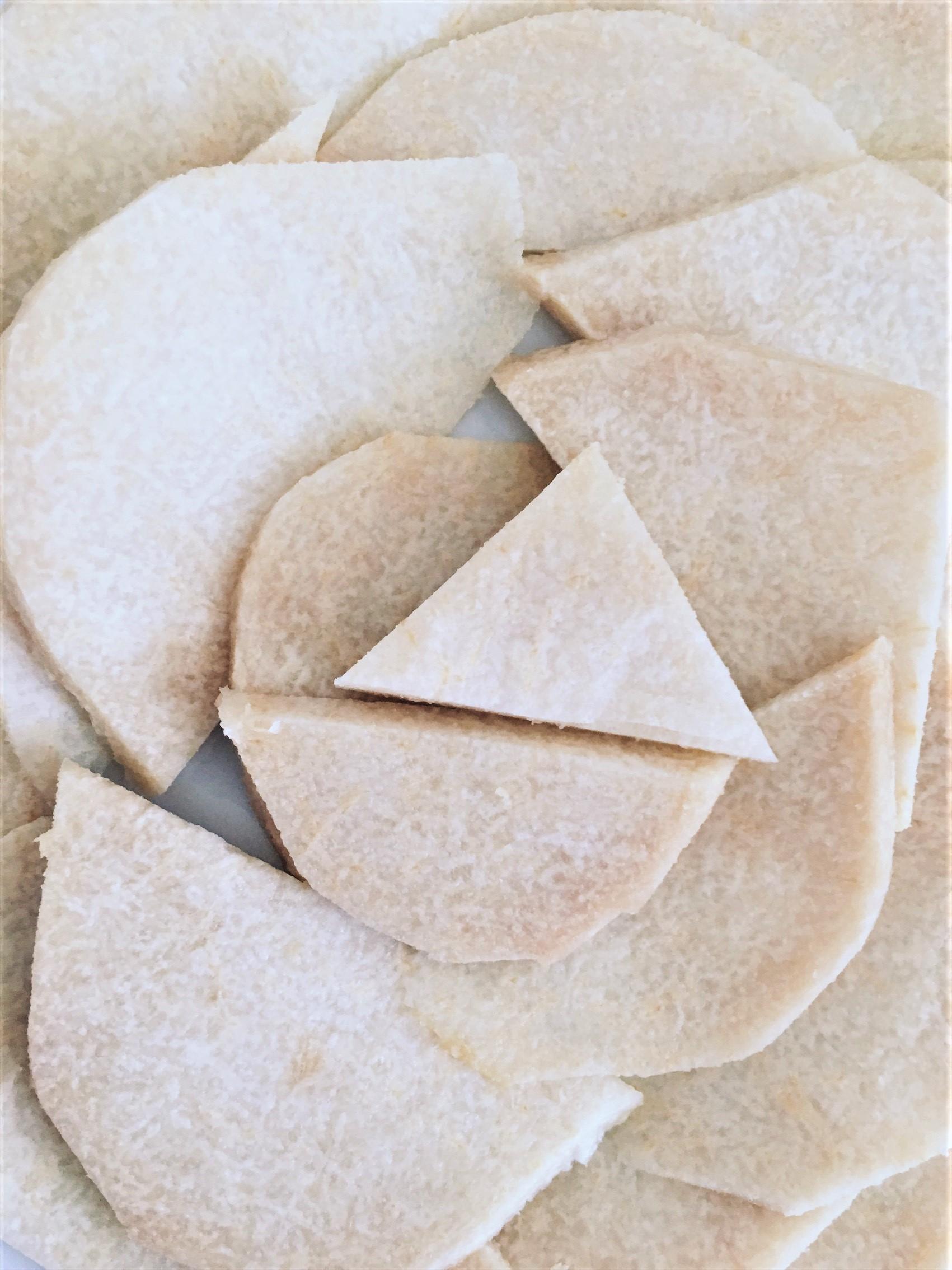 healthy vegan raw nachos jicama
