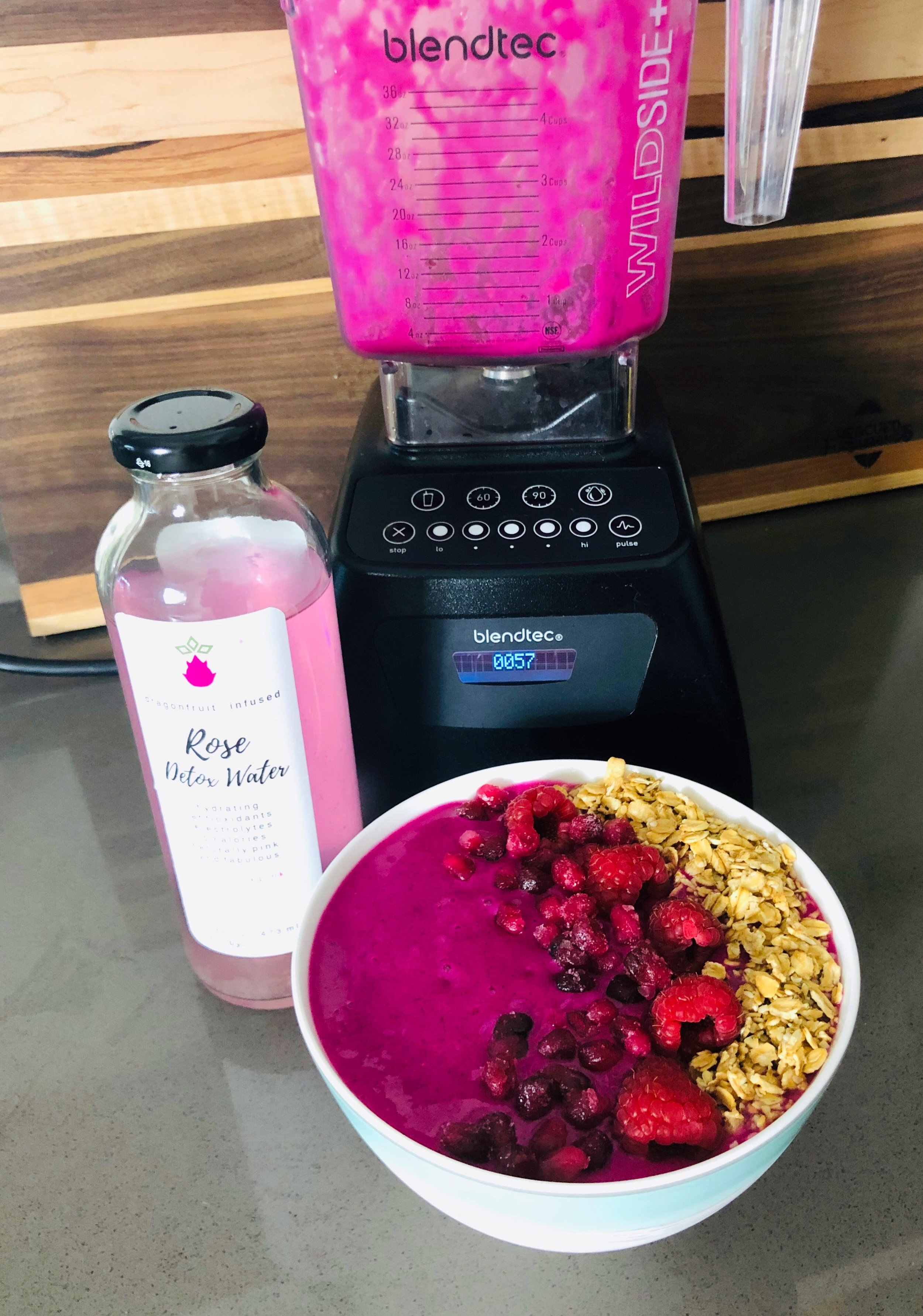 Pink Passion Smoothie Bowl