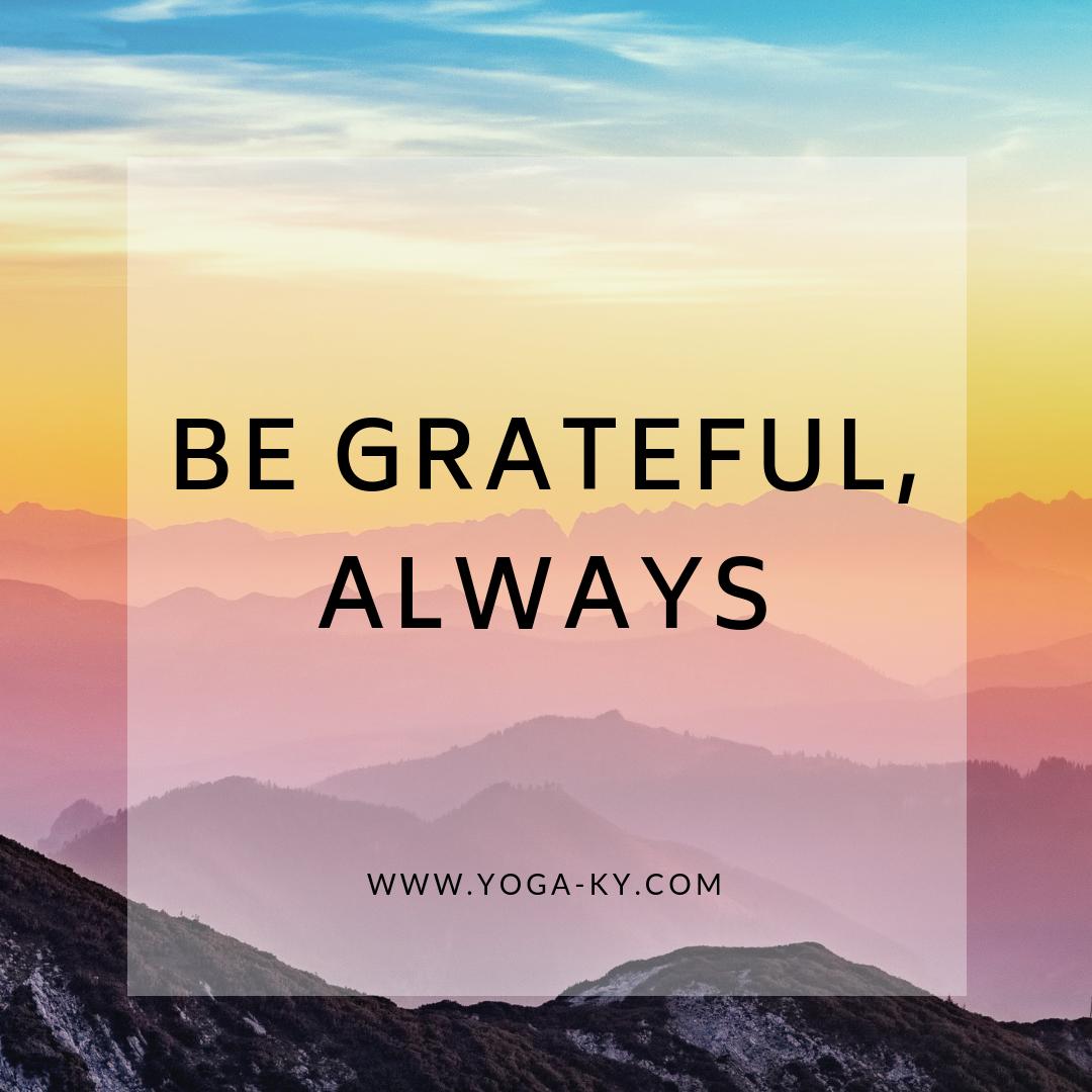 grateful quote mantra