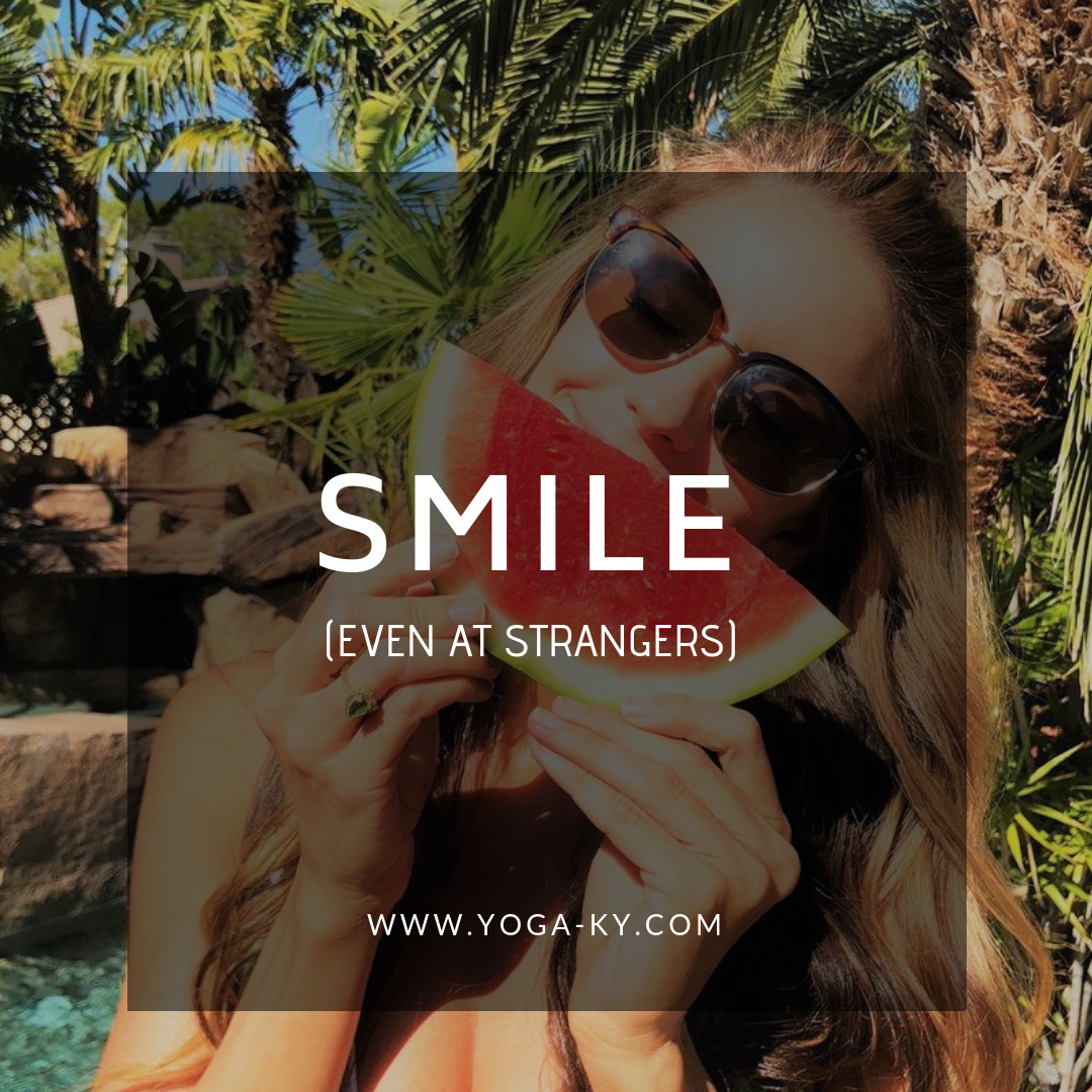 smile mantra quote