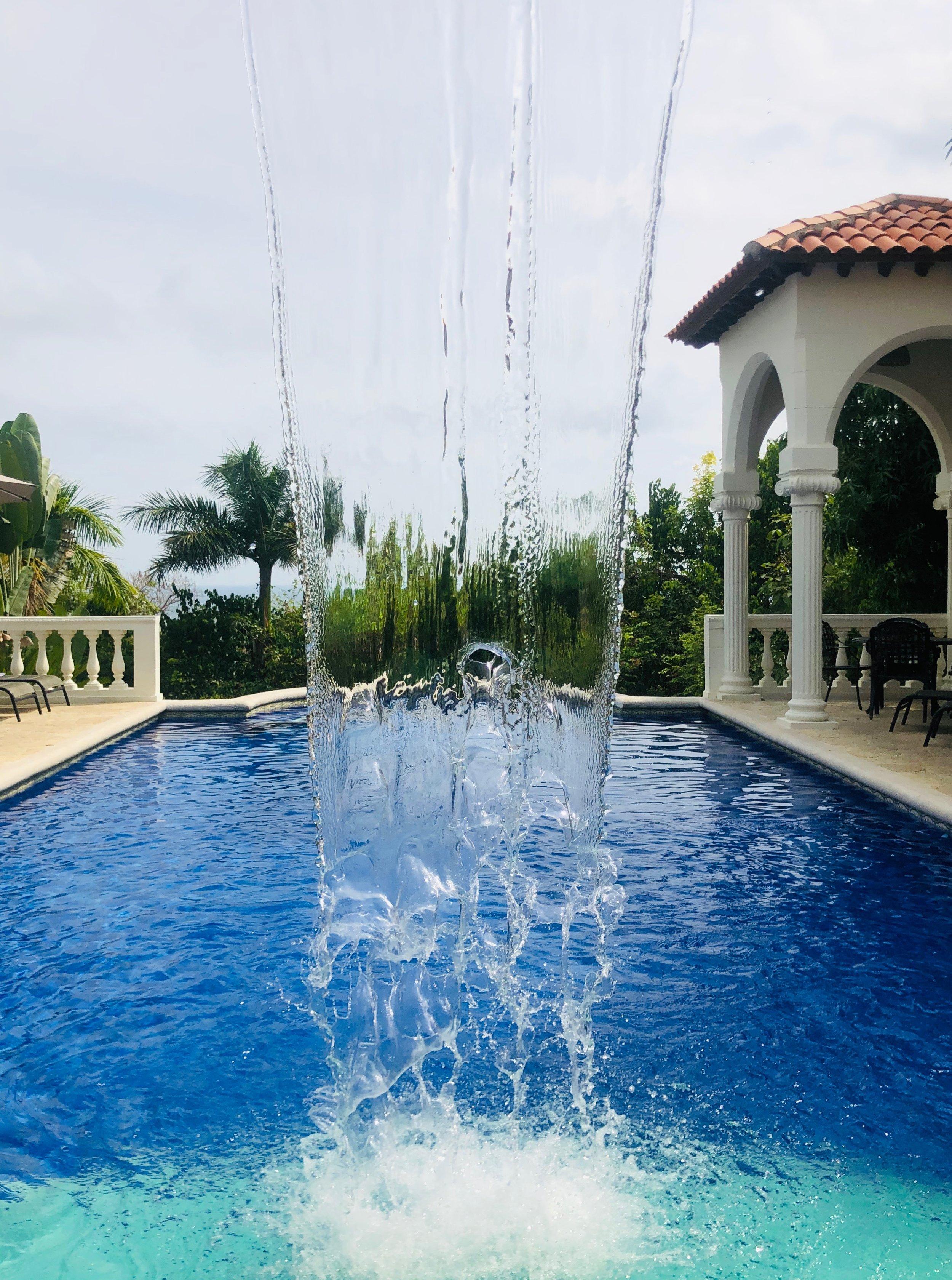 Parador Resort Costa Rica Waterfall Pool