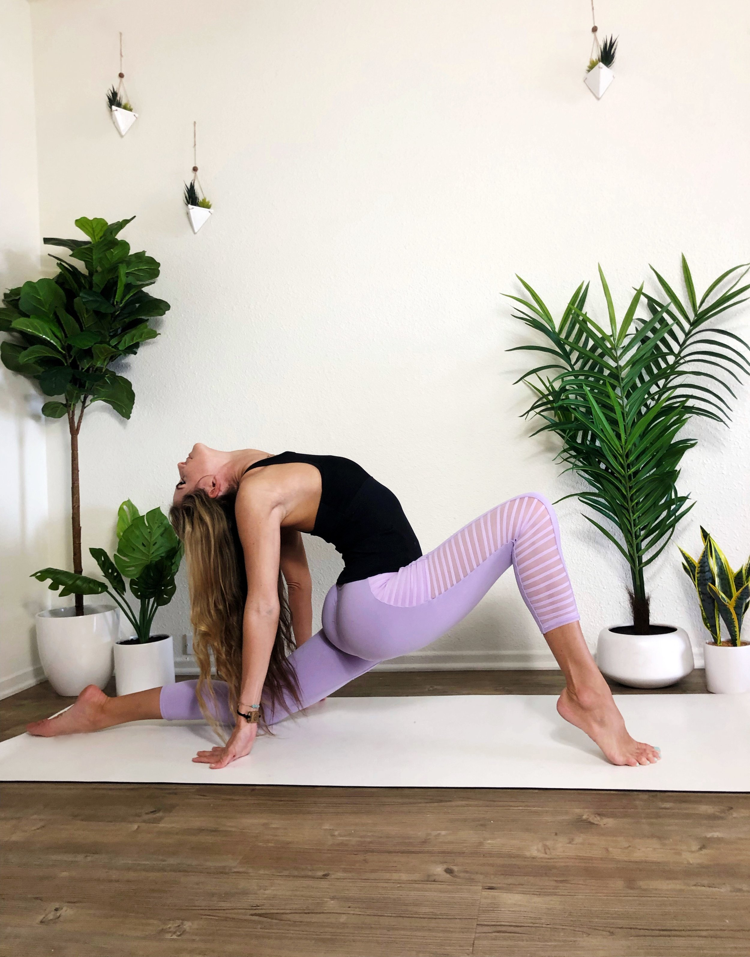Lunchbreak yoga lunge