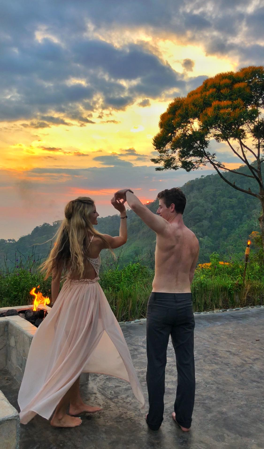 Dancig Costa Rica: Vista Celestial